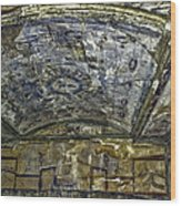 Ceiling And Wall Paintings Wood Print