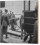 Wall Street Bombing, 1920 Wood Print