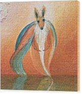 Wallaby Spirit Wood Print