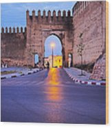 Walls Of Fes In Morocco Wood Print