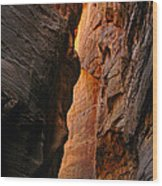 Wallstreet - The Narrows In Zion National Park. Wood Print