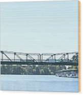 Walnut Grove Bridge Mural Wood Print