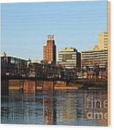Walnut Street Bridge Harrisburg Pennsylvania Wood Print