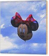 Walt Disney Smile Wood Print