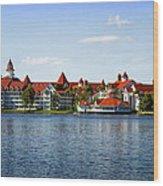 Walt Disney World Resort Wood Print