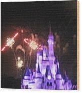Walt Disney World Resort - Magic Kingdom - 121238 Wood Print