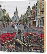 Walt Disney World Transportation 3 Panel Composite 02 Wood Print