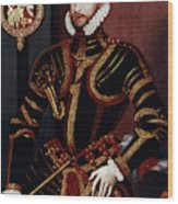 Walter Devereux (1541-1576) Wood Print