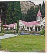 Walter Peak Farm New Zealand Wood Print