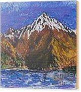 Walter Peak Queenstown  Wood Print