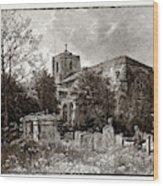 Waltham Abbey, Uk Wood Print