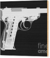 Walther P38 Reverse Wood Print
