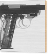 Walther P38 X-ray Photograph Wood Print