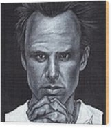 Walton Goggins Wood Print