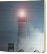 Walton Lighthouse Wood Print