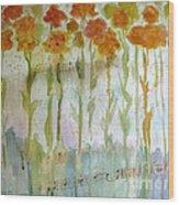 Waltz Of The Flowers Wood Print