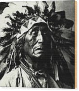 Wanduta Lakota Sioux Wood Print