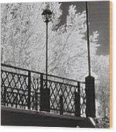 Wangaratta Footbridge Wood Print