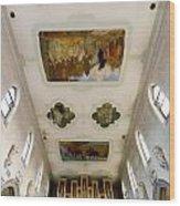 Wangen Organ And Ceiling Wood Print
