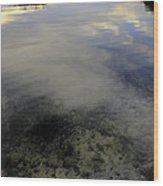 Wanigan View Below Above And Beyond Wood Print