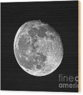 Waning Pink Moon Wood Print by Al Powell Photography USA