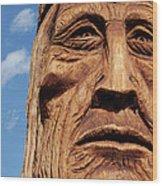 Waokiye Wood Print by Gabe Arroyo
