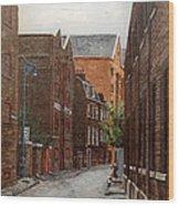 Wapping High Street East London Wood Print