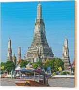 War Arun - Bangkok Wood Print