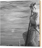War Fighters - 149th Pa Infantry 1st Regiment Bucktail Brigade-a1 Near Mc Pherson Barn Gettysburg Wood Print