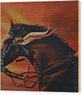 War Horse Joey  Wood Print by Paul Meijering