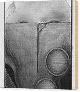 War Mask_009 Wood Print