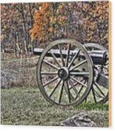 War Thunder - 4th New York Independent Battery Crawford Avenue Gettysburg Wood Print