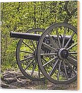 War Thunder - 5th United States Artillery Hazletts Battery - Little Round Top Gettysburg Spring Wood Print