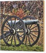 War Thunder - The Morris Artillery Page's Battery Oak Hill Gettysburg Wood Print