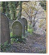 Wardsend Cemetery Wood Print