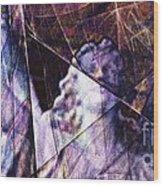 Warehouse Angel / Through The Broken Glass Wood Print