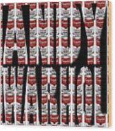 Warhol 3 Wood Print