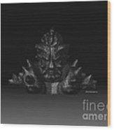 Warlord Wood Print