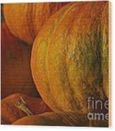 Warm Autumn Color Palette.  Wood Print