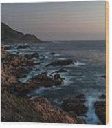 Warm California Evening Wood Print by Mike Reid