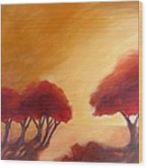 Warm Light Wood Print by Beverly Shaw-starkovich