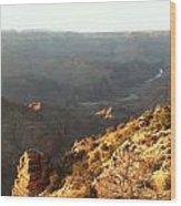 Warm Light Grand Canyon Wood Print
