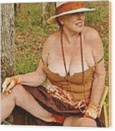 Warm October Wood Print