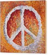 Warm Peace Wood Print
