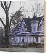 Warm Springs Avenue Home Series 4 Wood Print