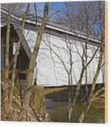 Warnke Covered Bridge  Wood Print