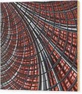 Warp Core Wood Print by John Edwards