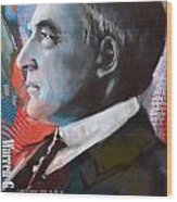 Warren G. Harding Wood Print