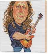 Warren Haynes Wood Print
