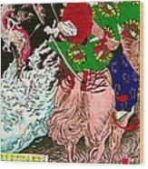 Warrior Tada No Manchu 1880 Wood Print